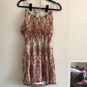 Roxy halter crisscross back dress